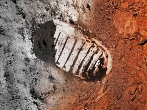 Prvý človek na mesiaci / Foto credit: www.nasa.gov