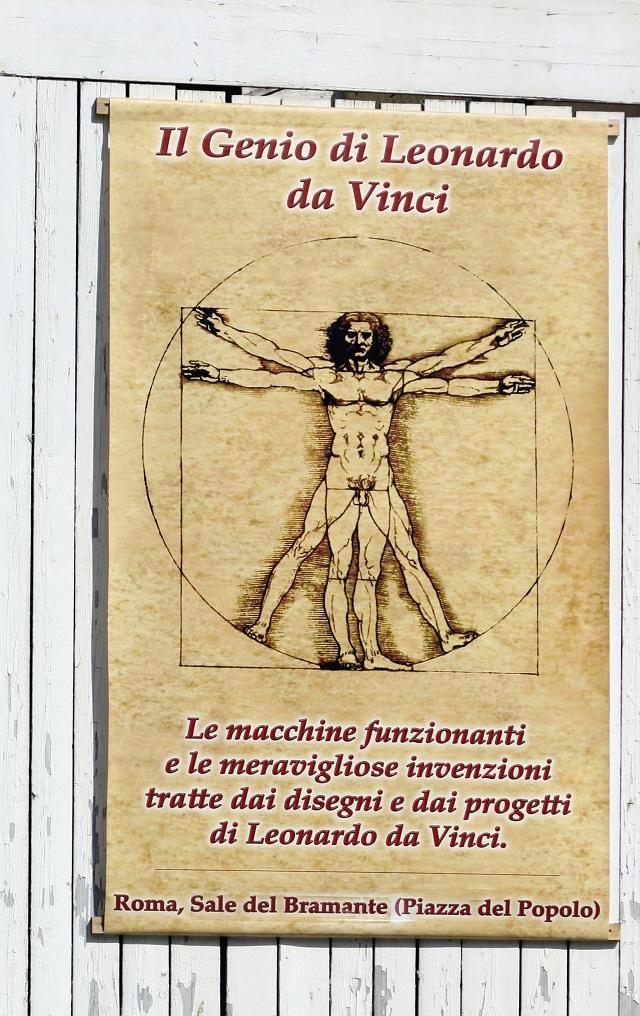 Leonardova štúdia tela